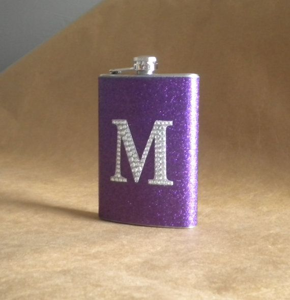 Personalized Gift LSU TCU Purple Sparkly or any by kryan2designs, $23.00