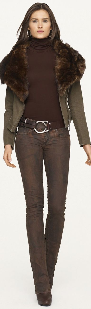 Ralph Lauren ● Black Label Denim-I couldn't wear the skinny jeans but love the color <3