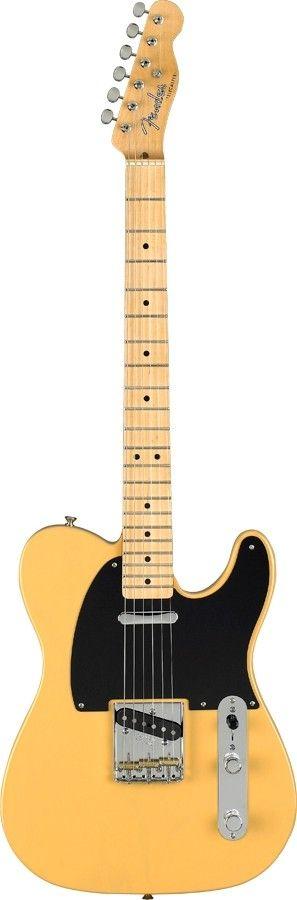 Fender Classic player Baja Telecaster Electric Guitar - MN - Blonde #fender #guitar