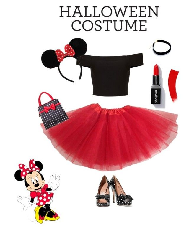 """""""Minnie Mouse costume"""" by katiekate16-1 ❤ liked on Polyvore featuring RED Valentino and Banned"""