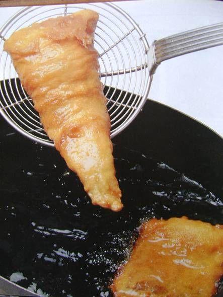 Lekkerbekjes worden van verschillende vissoorten gemaakt (wijting, heek, enz. enz.)maar van kabeljauw blijven de lekkerste.........