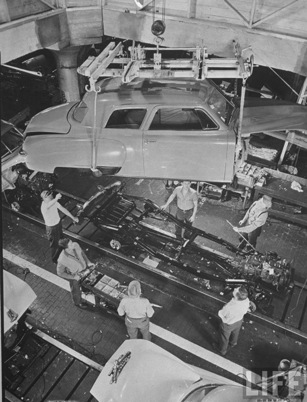 "Car Dealerships Lansing Mi >> Studebaker assembly: ""First by Far with a Postwar Car!"" 