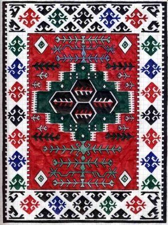 Albanian Qilim Carpet