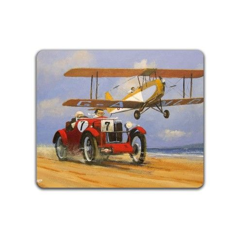 MG and TIGER MOTH Mousemat by rustomiser at zippi.co.uk