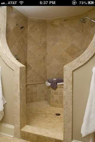 Dueling showers? Yes please!