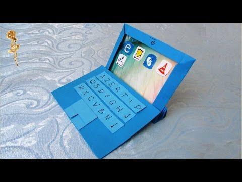 Origami : ⌨️Tablette tactile numérique 2 en 1,  mini-ordinateur avec l'écran-tablette détachable - YouTube