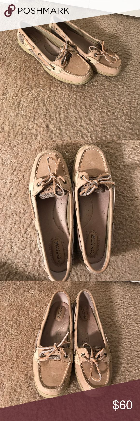 Sperry Angelfish Shoes Sperry Angelfish Boat Shoes. Worn twice, excellent condition. Sperry Shoes Flats & Loafers