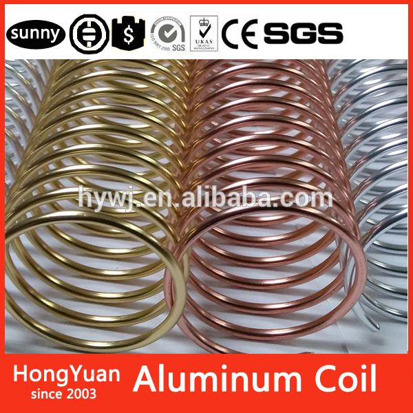 Metal Spiral Coil Binding Supply - 9/16 Aluminum - For All Coil Binding Machine…