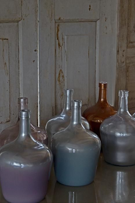 MrsBLOOM Bottles Toulouse silver/ombre (various colors) AW2014