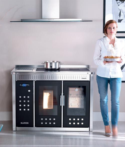 contemporary wood cookstoves | Range cooker stoves, Dual fuel range cooker stoves UK