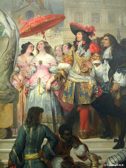 https://thoughtleadershipzen.blogspot.com/ #ThoughtLeadership Puget présentant la statue de Milon de Crotone à Louis XIV dans les Jardins de Versailles