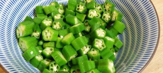 Okra salat   オクラのサラダ   okura no sarada