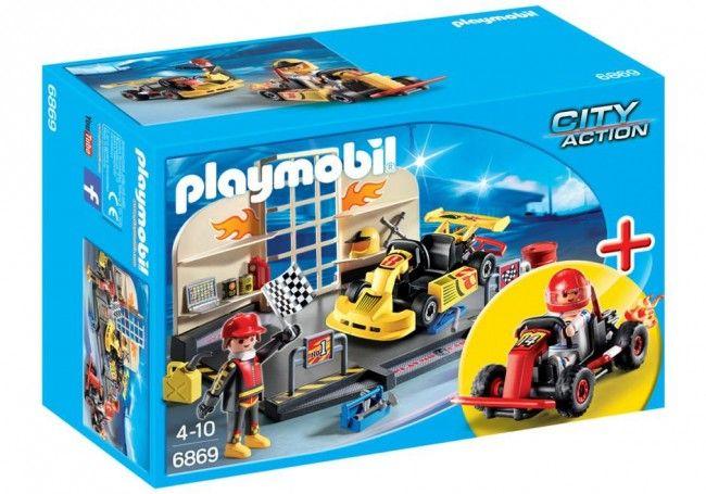 Playmobil : Garage de Karting