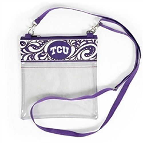 GEAR UP FOR GAME DAY! TCU (Texas Christian University) Clear Gameday Crossbody ... https://www.amazon.com/dp/B0743K3RXZ/ref=cm_sw_r_pi_dp_x_6-jGzb6YXKGY5