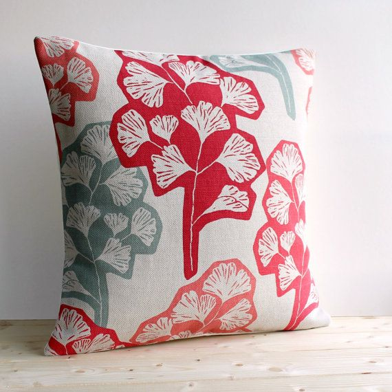 Contemporary Cushion Cover 16x16 Inch Modern Pillow by CoupleHome