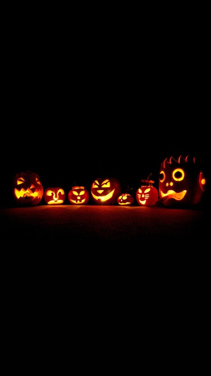 Glowing Pumpkins Halloween IPhone 6 U0026 IPhone 6 Plus Wallpaper