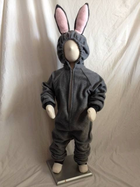 Pin for Later: Disney Zootopia Halloween Costumes Your Kids Are Going to Love Child's Gray Bunny Rabbit Costume Child's Gray Bunny Rabbit Costume ($55)