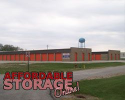 Affordable Self Storage in Albion, Indiana on Fire Station Drive