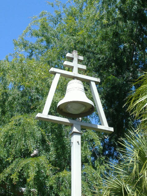 Mission Bell at the base of Mt. Rubidoux. Riverside, CA ...