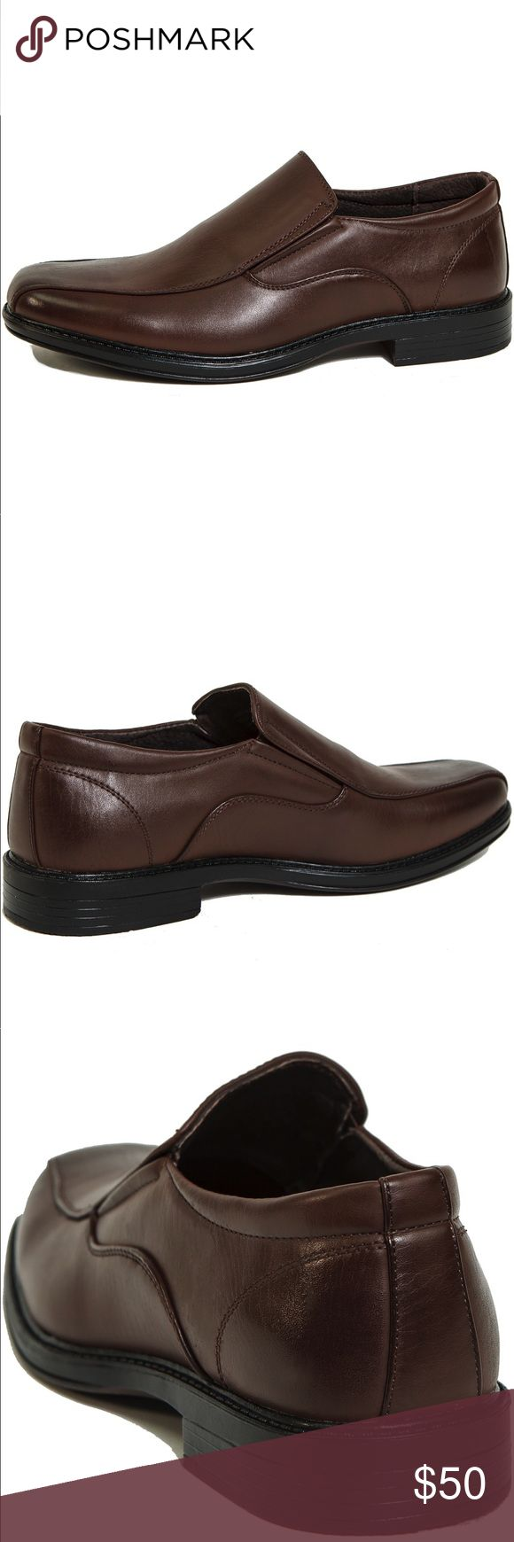 NWT- Alpine Swiss Men's Brown Loafer's NWT- Alpine Swiss Men's Brown Loafer's   Brand New, never worn, with Box (Box is damaged)  Loafer / Slip-on, Formal · Men · Rubber, Genuine Leather · US size 10    🔸If you want to save please look into bundling  🔸No Trades & NO HOLDS  🔸Will ship within 24- 48 hours Monday-Friday  🚫Please -NO- Offers on items priced $10 and under AND ON SALE  🔹Bundle one or more items from my boutique to only pay one shipping fee✨ Alpine Swiss Shoes Loafers…