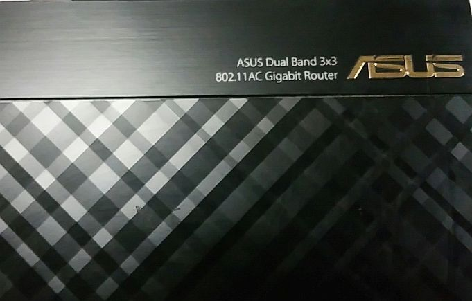 ASUS RT-AC66R 802.11ac Dual-Band Wireless-AC1750 Gigabit Router USED #ASUS