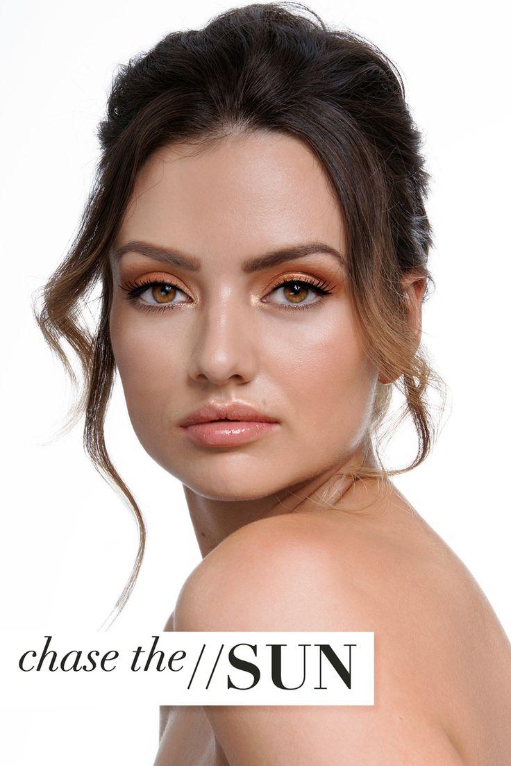 understated beautiful skin bronzed makeup look