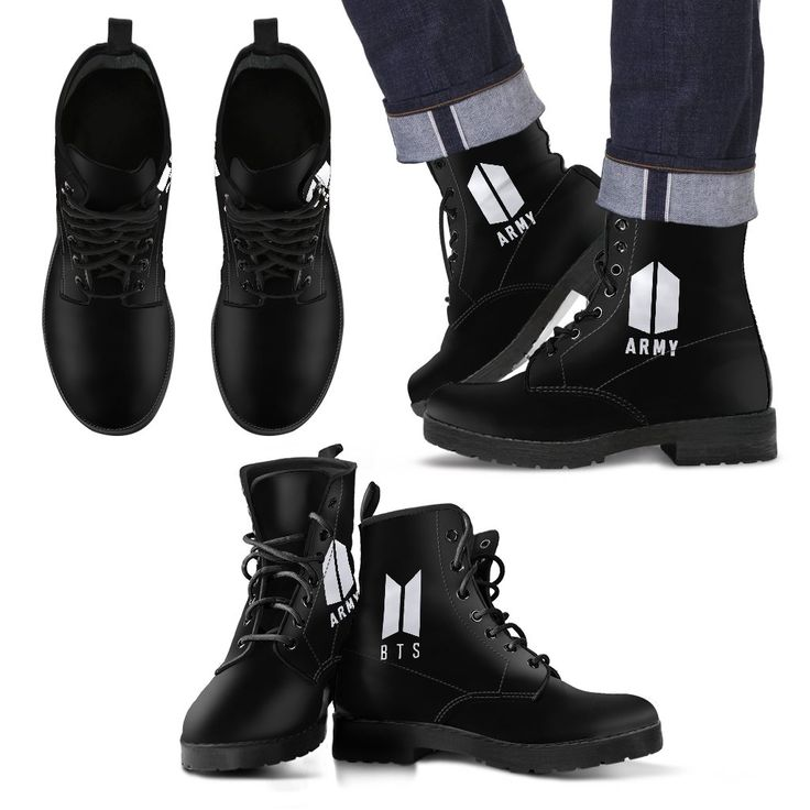 You're going to love this: BTS Army Logo Lea... The quantity is very limited so ACT FAST! http://thekdom.com/products/bts-army-logo-leather-boots?utm_campaign=social_autopilot&utm_source=pin&utm_medium=pin