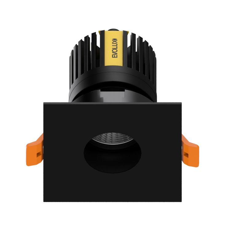 MagicDownlight LED Cuadrado Spot Negro