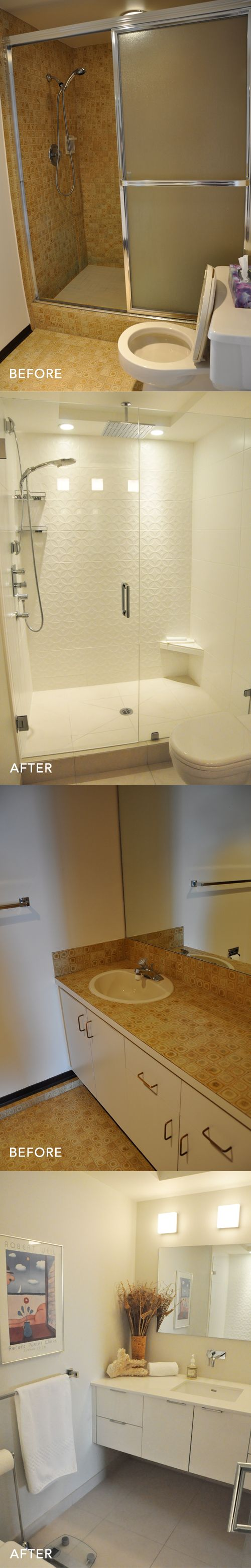 19 best images about before after bathroom makeovers on for Bathroom remodel reno nv