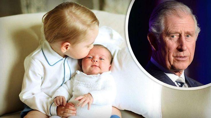 Prinz Charles: Charlotte ist viel pflegeleichter als George -  George findet seine Schwester zum Knutschen, Opa Charles findet, sie ist ein richtiger Wonneproppen http://www.bild.de/unterhaltung/royals/prinz-charles/baby-update-charlotte-ist-viel-pflegeleichter-als-george-41319822.bild.html