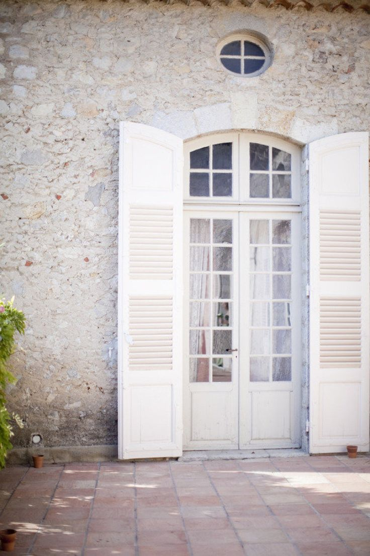 206 best house facade exterior french country for White french doors exterior