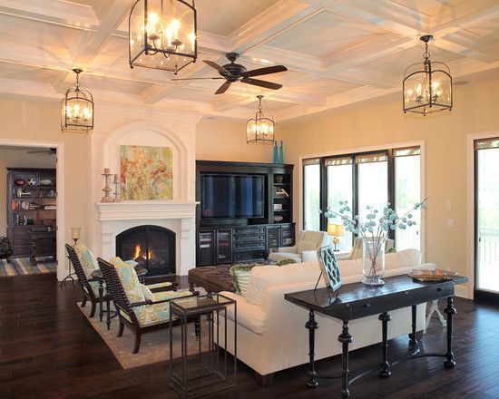 Living room contemporary mediterranean design pictures for Mediterranean living room ideas