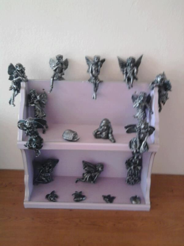 "ALL MY PURPLE FAIRIES WAS ""TOKREENED"" BLACK AND SILVER! LOVE THEM"