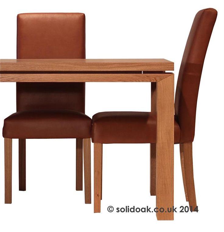 Yask Yrasmus Solid Oak Dining Table - Oak furniture in London.