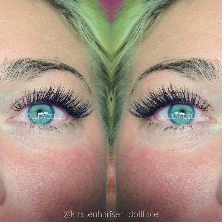 lashes (and beautiful eye color)