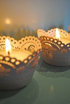 Votive Wraps diy.