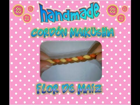 cordón Wayuu Maikisia o Maiküshia - YouTube