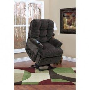 Medlift 5555 Series Sleeper/Reclining Lift Chair with Extra Magazine Pocket