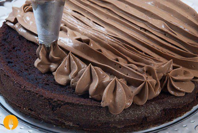 Cómo hacer trufa para rellenar tartas