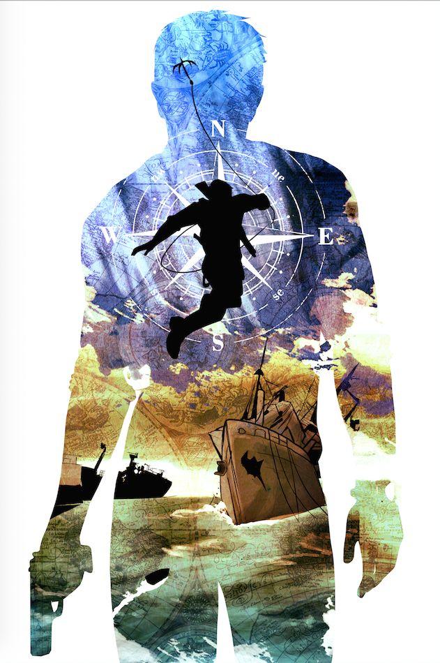 'Uncharted' art by reddit.com/u/frankreddit5