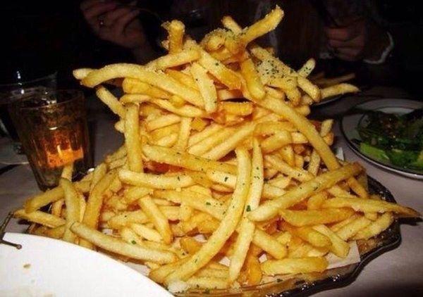 12 provas de que porção de batata frita é a melhor coisa da sua vida