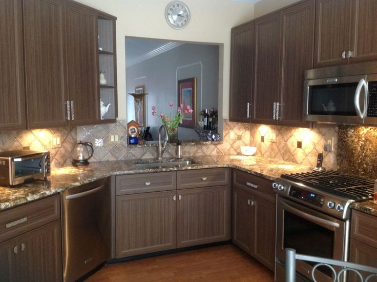 awesome 70 Stunning DIY Refacing Kitchen Cabinet Ideas  https://about-ruth.com/2017/08/30/70-stunning-diy-refacing-kitchen-cabinet-ideas/