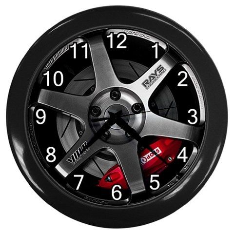 Volk Racing Rays Te37 X Pcd Wheel Rem Custom Wall Clock