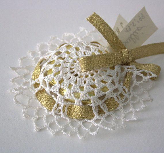 wedding favor crochet favor by GomitoloEUncinetto on Etsy, €12.90