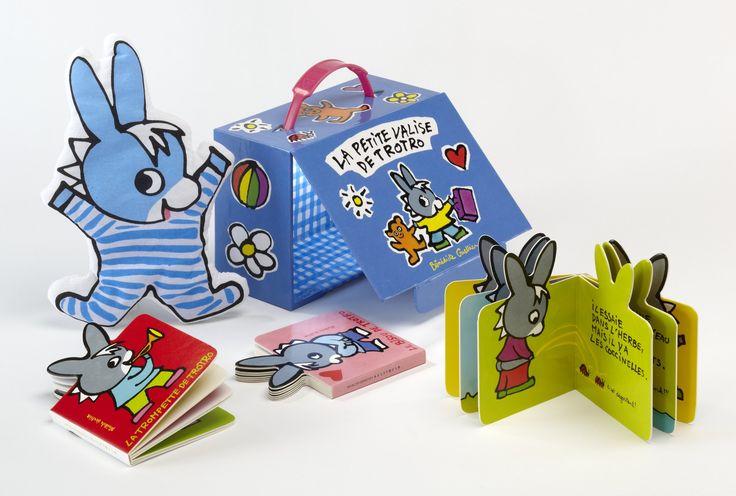 Amazon.fr - La petite valise de Trotro - Bénédicte Guettier - Livres