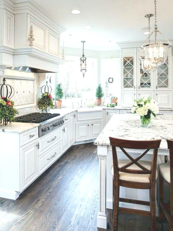 70 Luxury White Kitchen Design Ideas And Decor 10 Decor