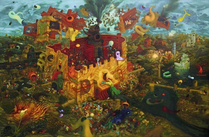 Save the date - http://www.mqw.at/programm//programmdetail/arik-brauer-malt-waehrend-der-ausstellung-vor-dem/  An ausgewählten Sonntagen entsteht ein gemaltes Bild von Arik Brauer aus dem Schöpfungsmythos.