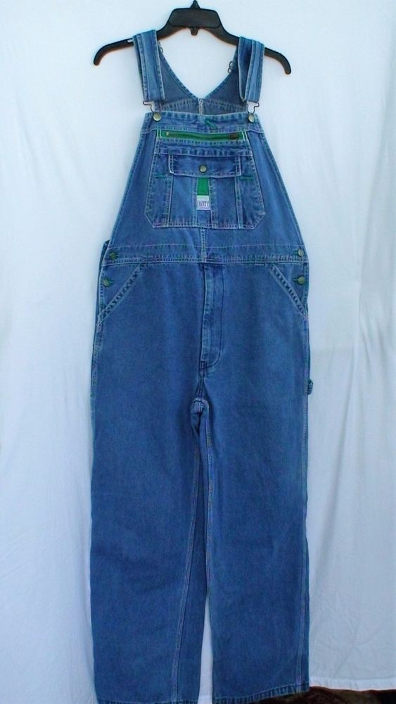 Vintage Liberty Bib Overalls Men's Vintage Clothing Size 36 X 30 SHIPPING UPDATE #Liberty #Overalls