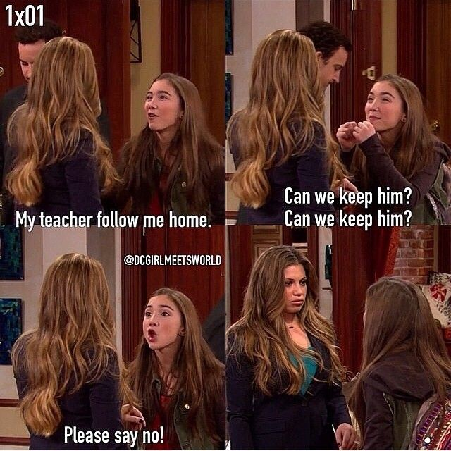"#GirlMeetsWorld 1x01 ""Girl Meets World"""