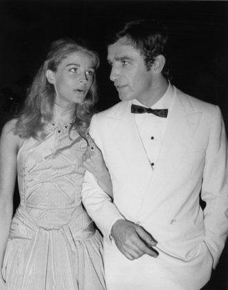"Candice Bergen w/ Bekim Feymu on the set of ""The Adventurers"" Sept. 4, 1968"